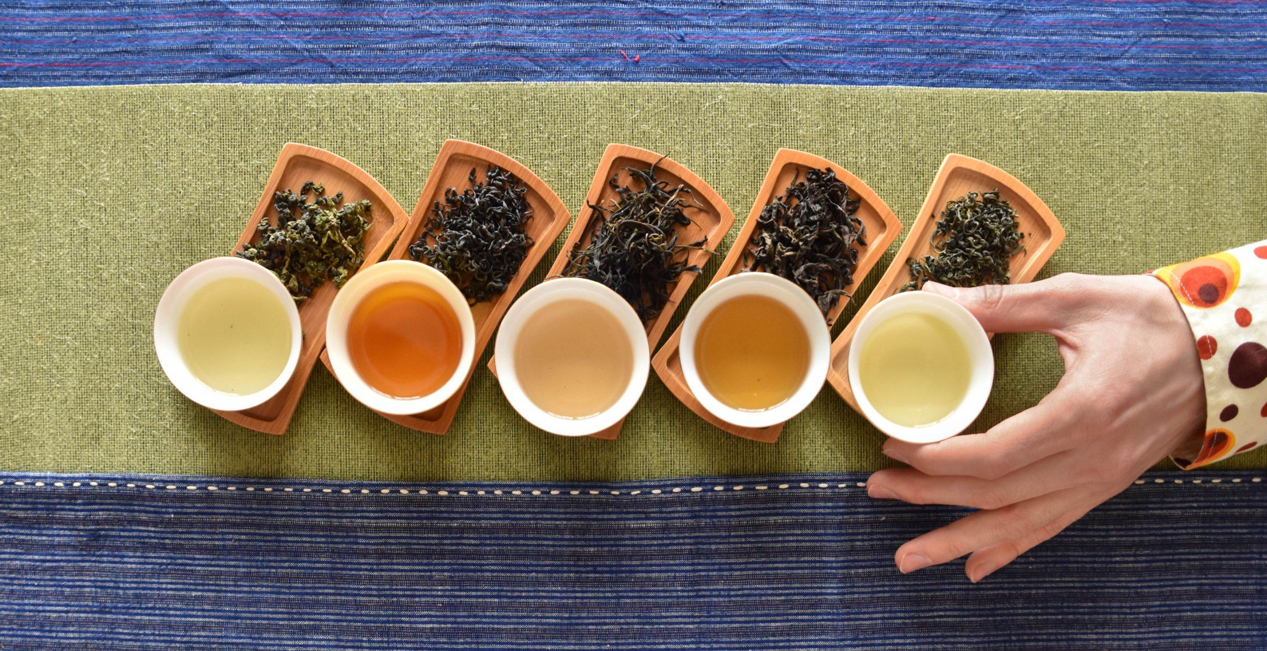 Определение свойств чая по цвету и вкусу